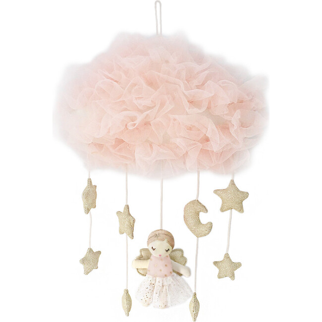 Pink Angel Celestial Mobile