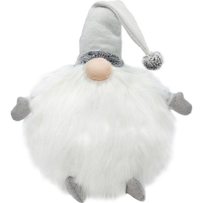 Gnome Pillow, White