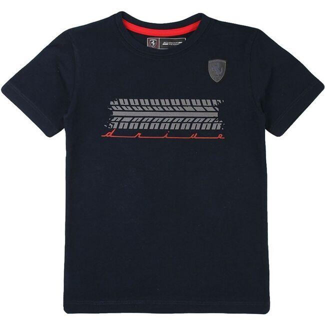 Tiremark Logo T-Shirt, Navy