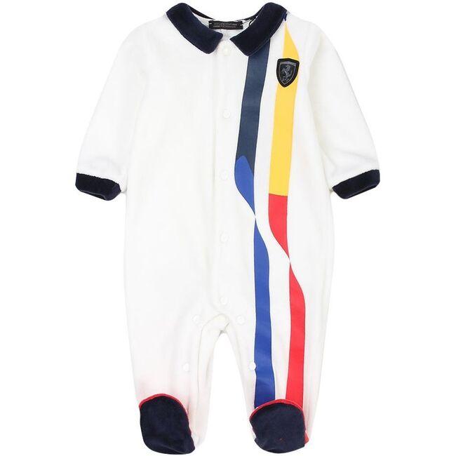 Raceway Bodysuit, White