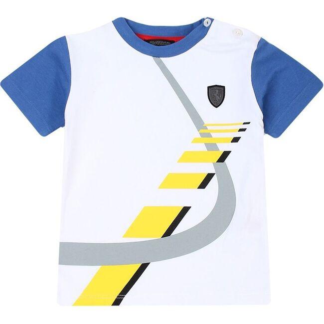 Raceway Logo T-Shirt, White