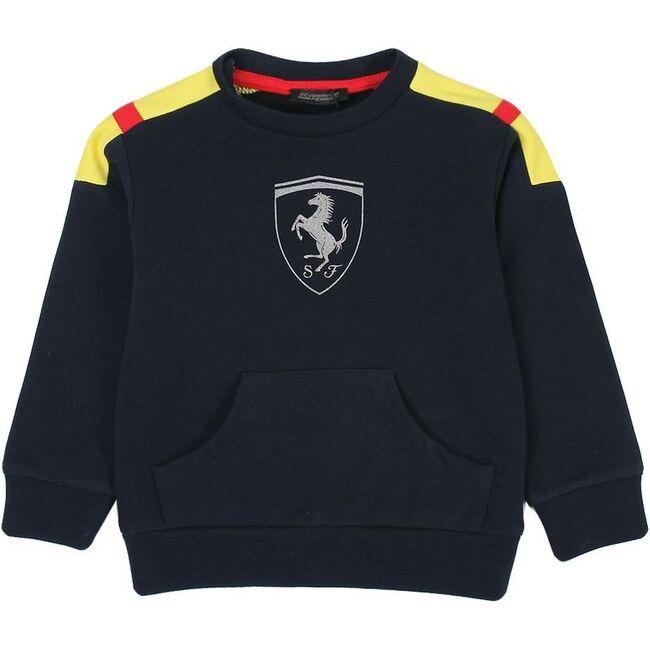 Logo Sweater, Navy