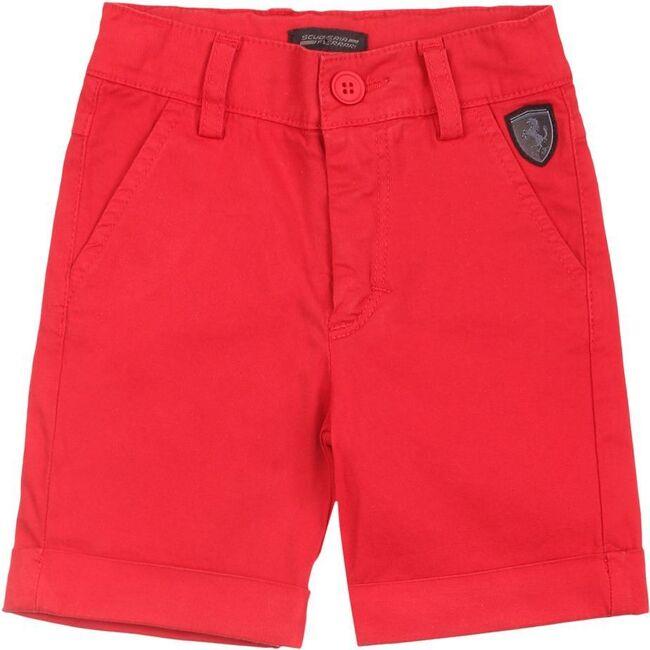 Logo Shorts, Red