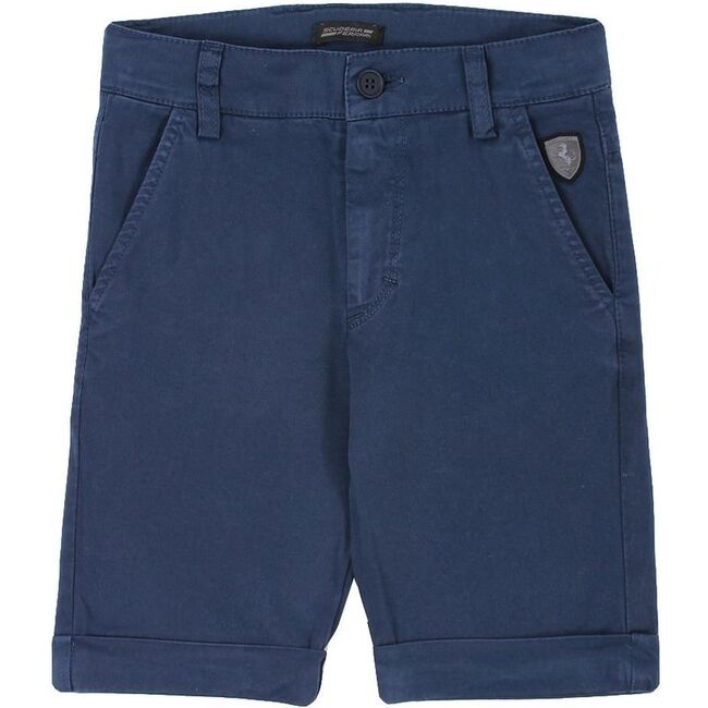 Logo Shorts, Navy