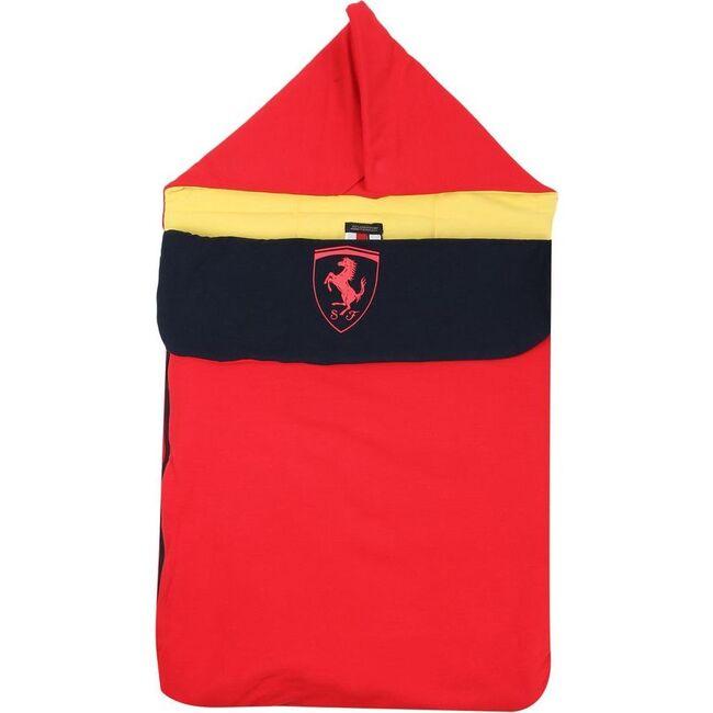 Logo Carrying Bag, Red