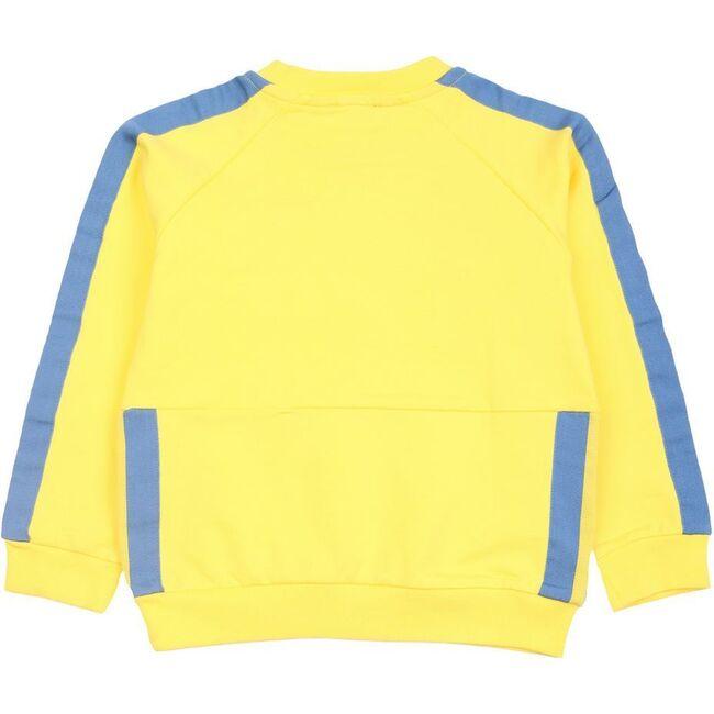 Logo Sweater, Yellow