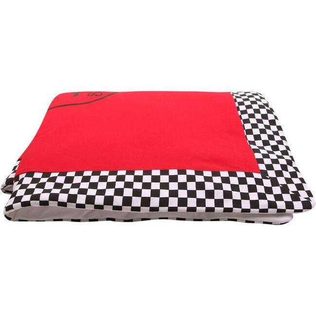 Logo Blanket, Red