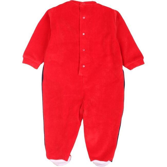 Colorblock Bodysuit, Red