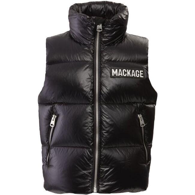 Toddler Charlee Down Vest, Black