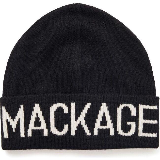 Kiko Knit Logo Hat, Black