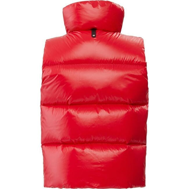 Charlee Down Vest, Red