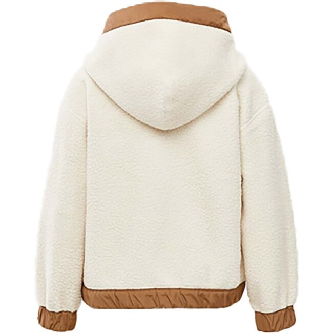 Brady Fleece Jacket, Cream