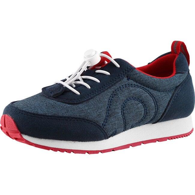 Elege Machine Washable Lightweight Sneakers, Navy