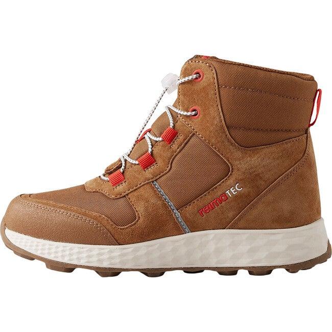 Ehtii Reimatec Waterproof Hiking Shoes, Brown - Boots - 1