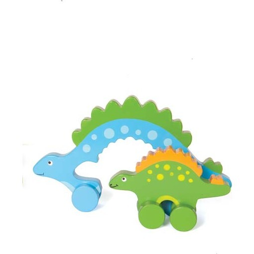 Mommy and Baby Rolling Toy, Stegosaurus