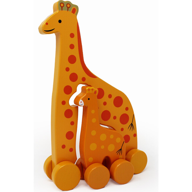 Mommy and Baby Rolling Toy, Giraffe