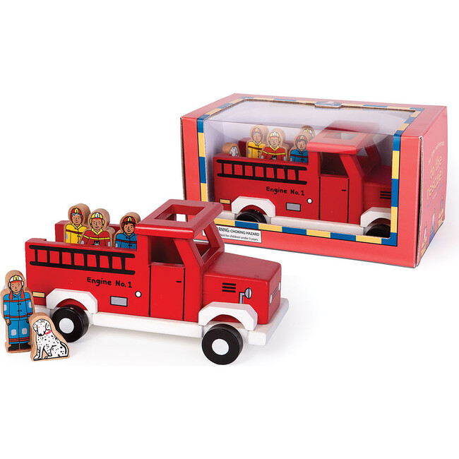 To The Rescue Magnetic Fire Truck - Transportation - 1