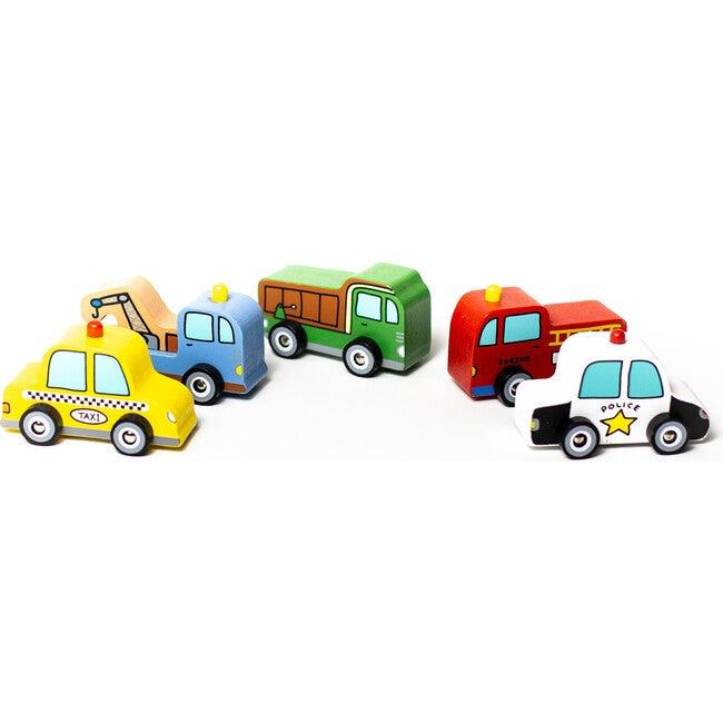 Around Town Vehicles, Set of 5