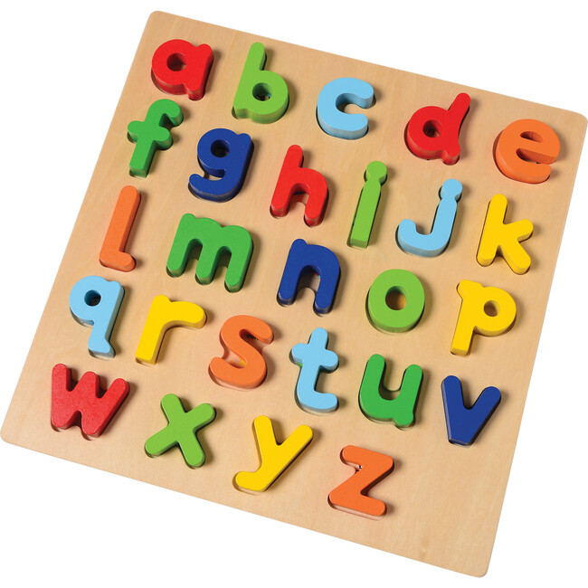 Lowercase Alphabet Block Puzzle