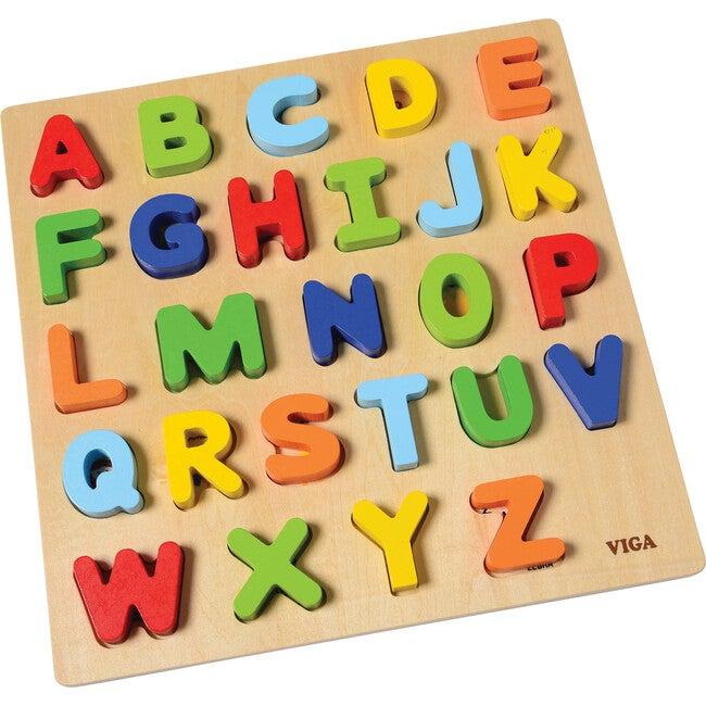 Uppercase Alphabet Block Puzzle