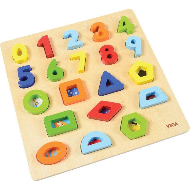 Numbers & Shapes Block Puzzle