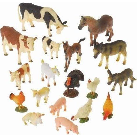 Block Play Farm Animals