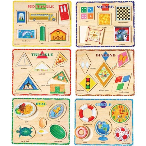 Learn-A-Shape Puzzles