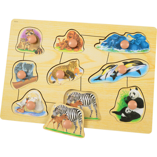 Jumbo Knob Mothers & Babies Puzzles