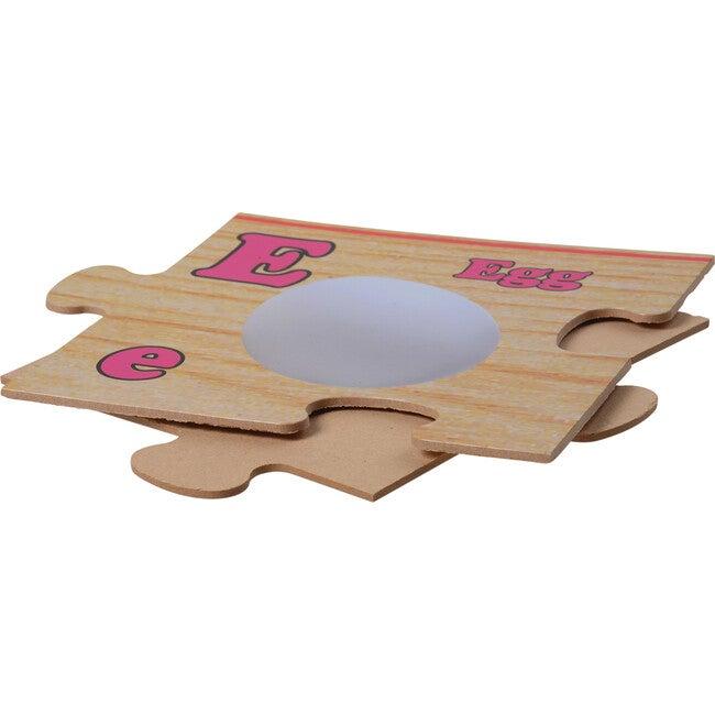 Wooden Alphabet Floor Puzzle