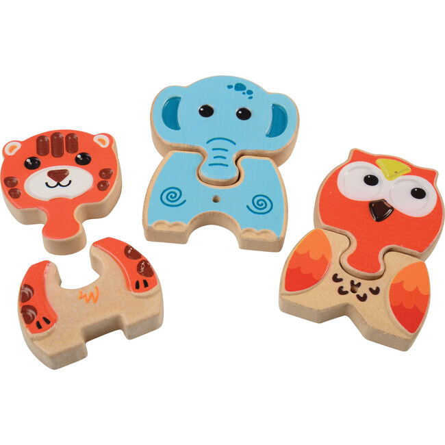 Chunky Mix 'N Match Puzzles