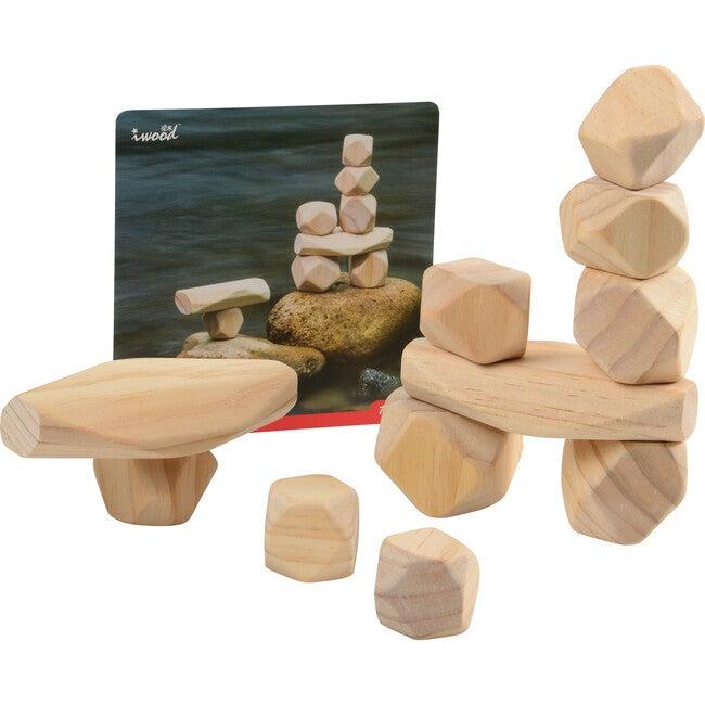 Natural Wooden Balancing Blocks