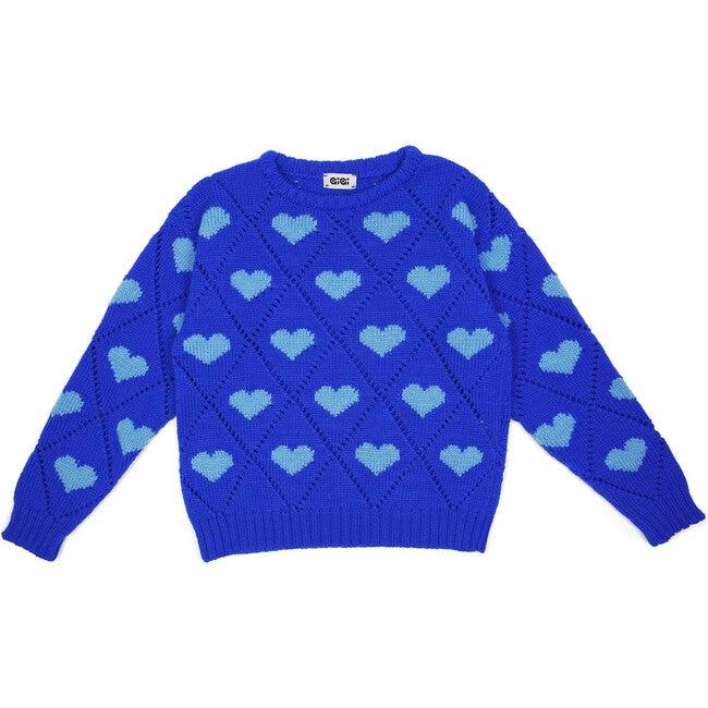 Love Sweater Mini, Cobalt Blue
