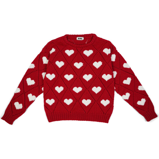 Love Sweater Mini, Red