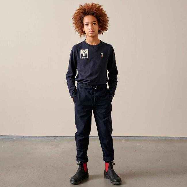 Pharel Pants, Navy