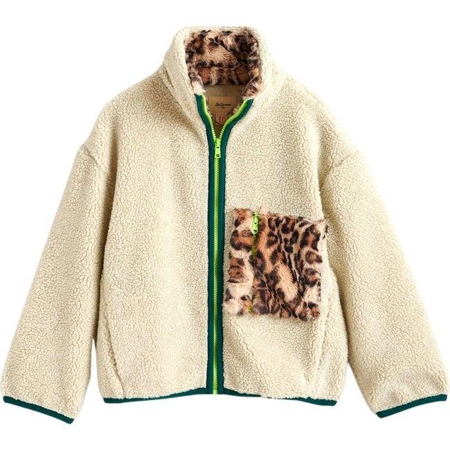 Fleece Ayame, Off White - Sweaters - 1