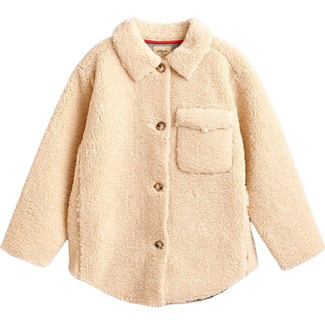 Fleece Jacket Anita, Off White