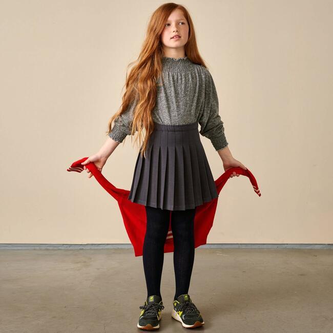 Asra Skirt Gray, Gray