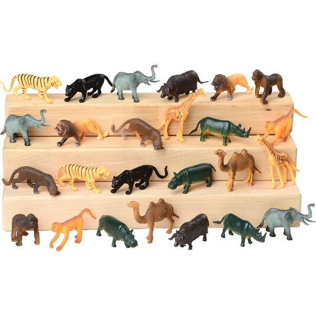 Block Play Animal Collection, Wild Animals