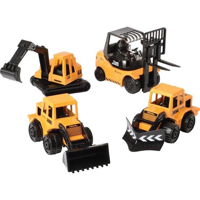 Heavy Duty Construction Vehicles, Yellow
