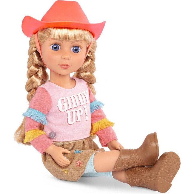 """14"""" Doll Floe, Multicolor"""