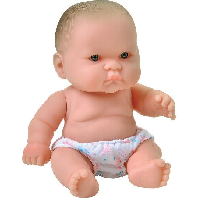 "14"" Huggable Baby Doll, Caucasian"