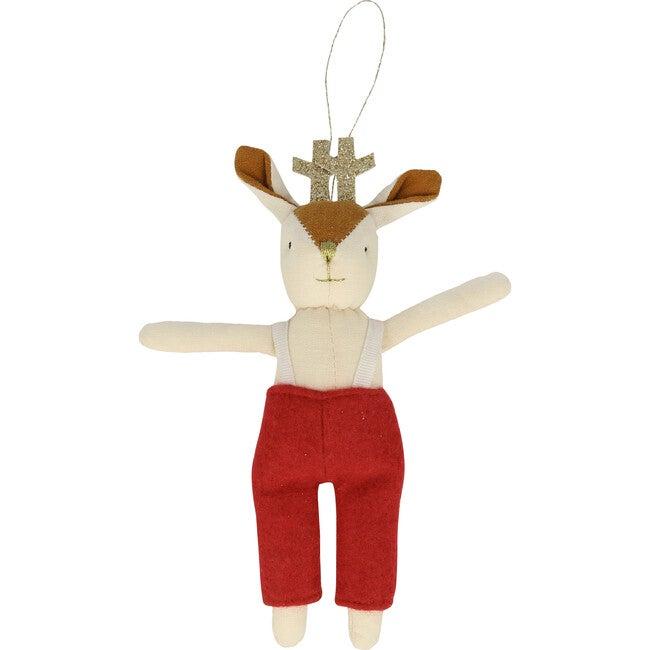 Mr Reindeer Ornament