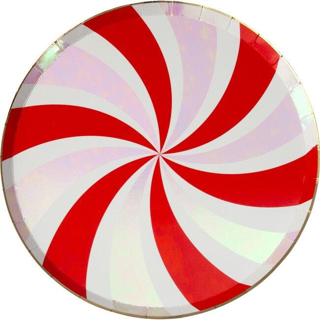 Peppermint Swirl Side Plates