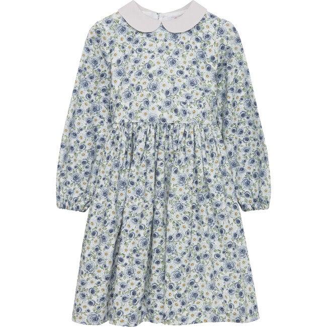 Daisy Rose Dress, Blue