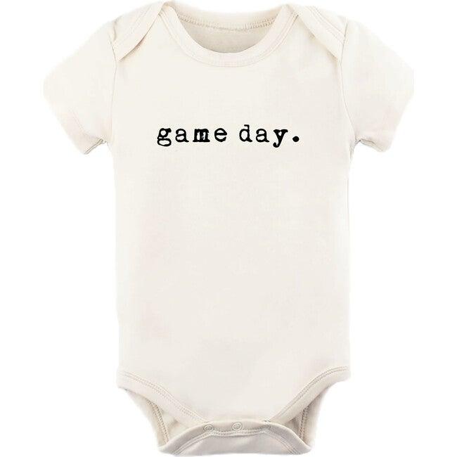 Game Day Short Sleeve Onesie, Black