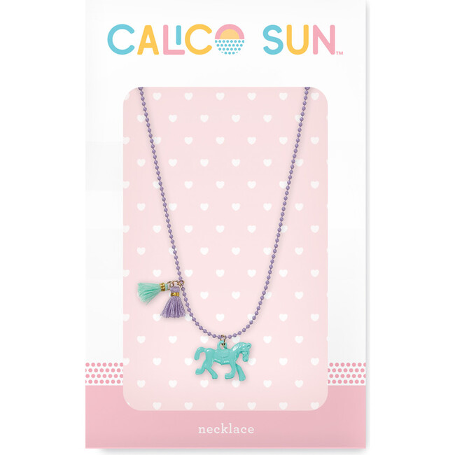 Zoey Necklace, Horse