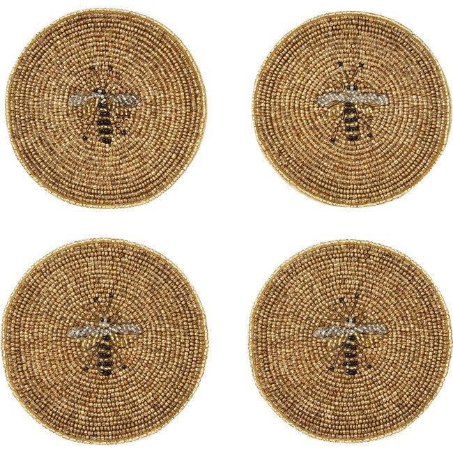 Stripey Bee Coasters