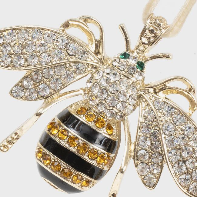 Stripey Bee Hanging Ornament