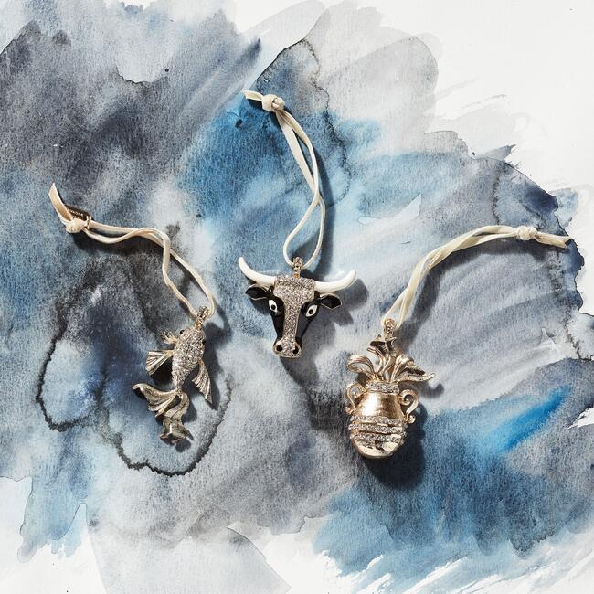 Taurus Hanging Ornament
