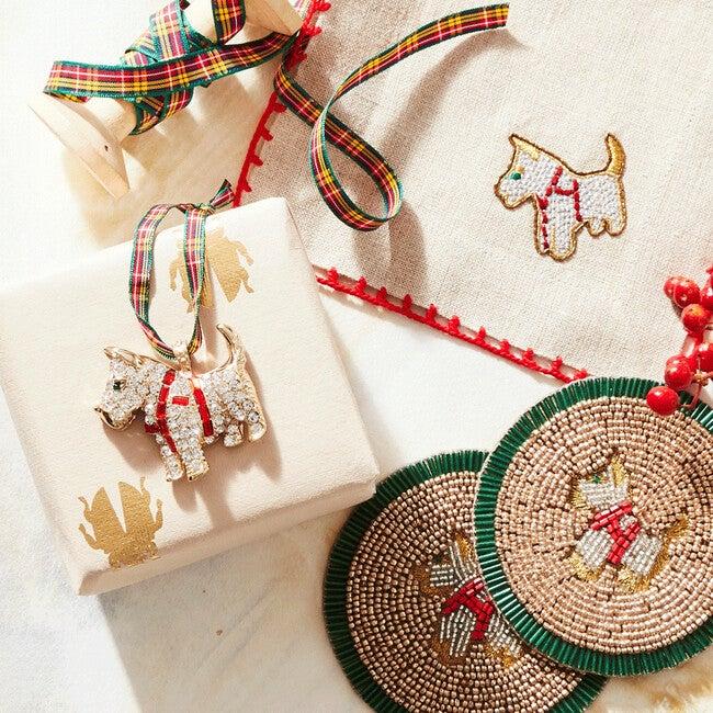 Scottie Dog Hanging Ornament
